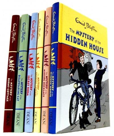 Download Enid Blyton Classic Mystery Stories 6 Books Collection Set pdf epub
