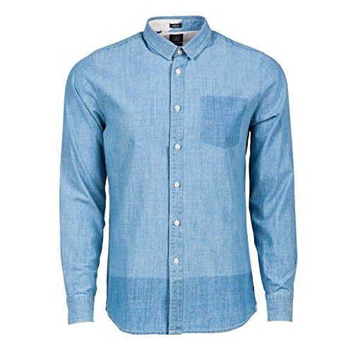 Volcom Shadow Denim L/S - Camisa Manga Larga para Hombre, Color Azul, Talla M: Amazon.es: Zapatos y complementos