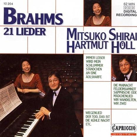 Brahms: 21 Lieder