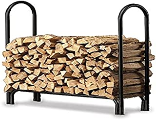 product image for Plow & Hearth 13433 Heavy Duty Steel Outdoor Firewood Rack