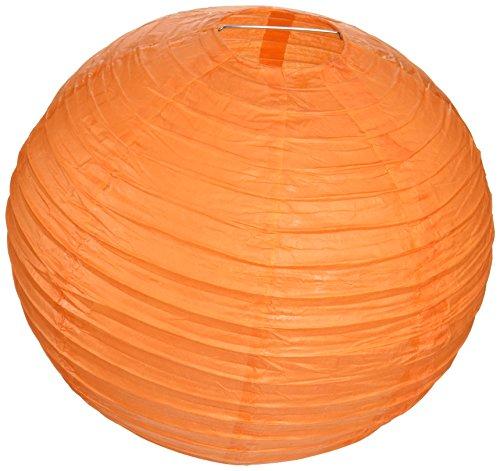 12-PCS-Orange-ChineseJapanese-Paper-LanternLamp-12-Diameter-Just-Liroyal-Brand