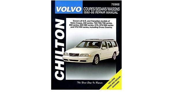 Volvo Saloons, Estates and Coupes, 1990-93 Chiltons Total Car Care: Amazon.es: Chilton Automotive Books, The Nichols/Chilton: Libros en idiomas extranjeros