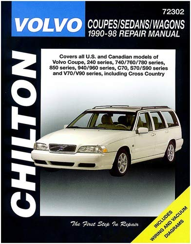 Volvo Saloons, Estates and Coupes, 1990-93 Chiltons Total Car Care: Amazon.es: Chilton Automotive Books, The Nichols/Chilton: Libros en idiomas extranjeros