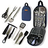 Portable Outdoor Utensil Kitchen Set-9 Piece