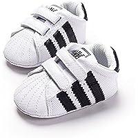 LIVEBOX Newborn Baby Boys' Premium Soft Sole Infant Prewalker Toddler Sneaker Shoes