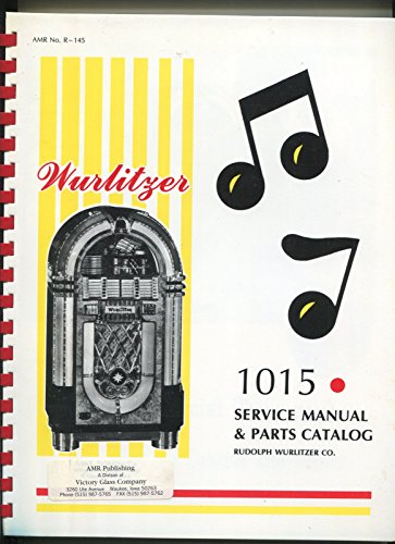 Jukebox Manual (Wurlitzer 1015 AMR No.R-145 Commercial Remote Control Jukebox original manual)
