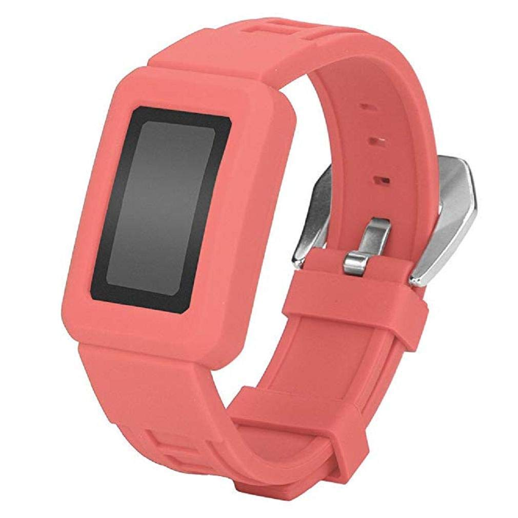 Fashion Clearance! Noopvan Charge2 Straps Case Anti Impact Resilient Protection Strap Rugged Band Armor Protectors Ultimate Protection from Drops and Impacts (Watermelon Red)