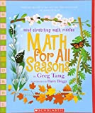 img - for Math For All Seasons: Mind-Stretching Math Riddles (Scholastic Bookshelf) book / textbook / text book
