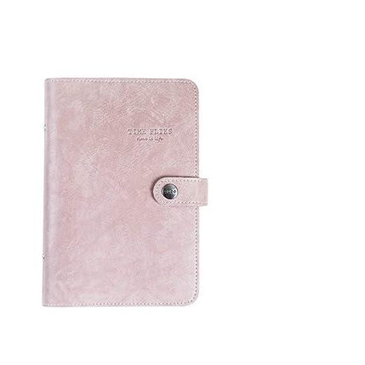 ZHUIUI Cuaderno A5 Tapa Blanda Cuaderno de Anillas en ...