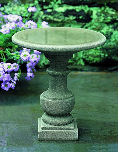 (Campania International B-075-CB Siena Birdbath, Copper Bronze Finish )