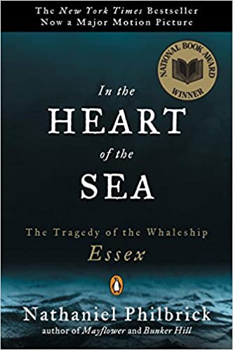 Image result for In the Heart of the sea book cover