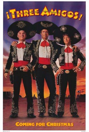 the three amigos poster movie b 27 x 40 in 69cm x 102cm chevy chase - Steve Martin Christmas Movie