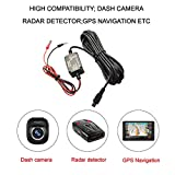 Meknic Dash Cam Hardwire Kit 11.5FT Mini USB Hard