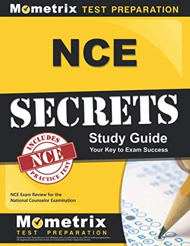 NCE Secrets Study Guide: NCE Exam Review for the National Counselor Examination by Mometrix Media LLC