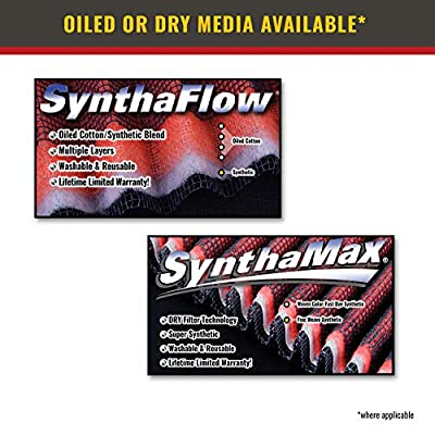 Airaid 851-135 Direct Replacement Premium Dry Air Filter: Automotive