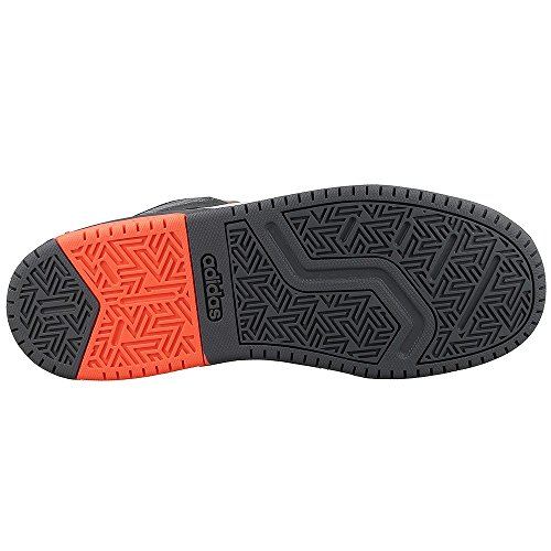 Adidas–BB9TIS Mid K–Chaussures Sportives baloncestopara enfant, gris (Onix/narsol/gris), 32