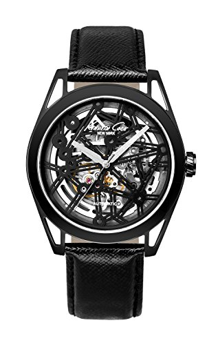 Kenneth Cole New York Men's KC8083 Automatic Analog Display Automatic Self Wind Black Watch (Cole Men Kenneth Watch Skeleton)