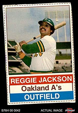 Amazoncom 1976 Hostess 146 Reggie Jackson Oakland