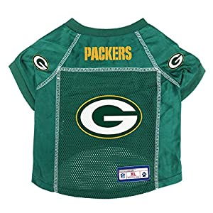 Littlearth NFL Green Bay Packers Pet Jersey, XS