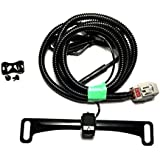 10-17 Tacoma License Plate Camper Camera Kit - Plug And Play for Drop in Camper Applications!