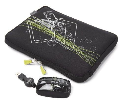 Dicota Subnotebook Future Notebooktasche bis 25,9 cm (10,1 Zoll) inkl. Maus