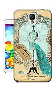 Xiu Fan Customized The peacock's wedding Case for Samsung note3