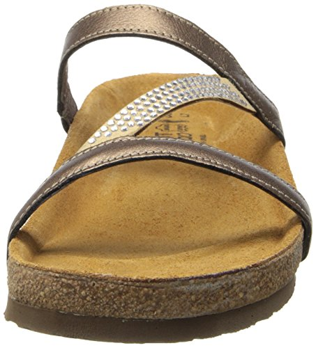 Naot Women's Hawaii Wedge Sandal, Grecian Gold Leather, 39 EU/7.5-8 M US by NAOT (Image #4)