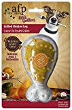 All for Paws Grilled Chicken Leg Pet Toys, Honey Caramel