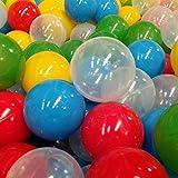 Set de 300 pelotas Kids Colors para alberca de bebés y niños Libre de Plomo