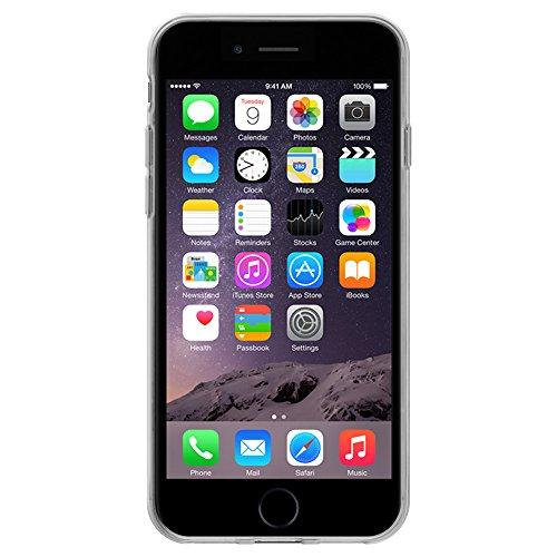 "Amzer ""Modern Banana Print"" Soft Gel Klar TPU Skin Case für Apple iPhone 6/6S"
