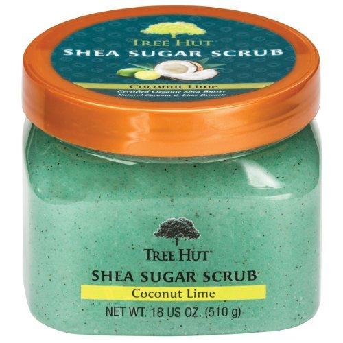 Tree Hut Shea Sugar Scrub, Coconut Lime, 18 Ounce by Tree Hut