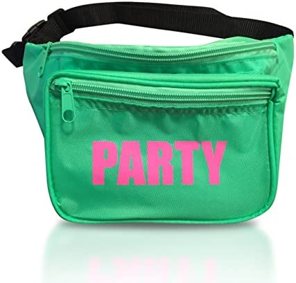 Whos Your Fanny Fanny Pack Bum Bag Multiple Styles, 3 Zipper Water Resistant Perfect for Bachelorette Party and Group Who/'s Your Fanny Fun Fanny Packs for Women and Men Neon, Party, Squad, Pink, Green, Shiny, Holographic