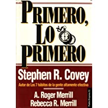 Primero, lo primero / First Things First (Spanish Edition)