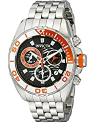 Invicta Mens 14726 Pro Diver Analog Display Swiss Quartz Silver Watch