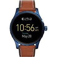 Fossil Q Marshal Display Leather Touchscreen Smartwatch