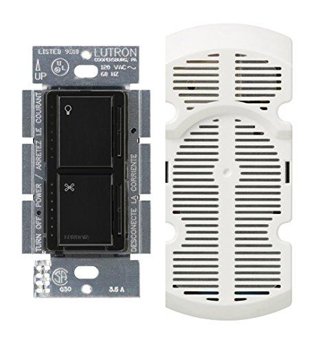 Multi Location Fan Control (Lutron MA-LFQM-BL Maestro 300 Watt Multi-Location Fan Control, Black)