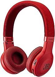JBL E45BT On-Ear Wireless Headphones (Red)