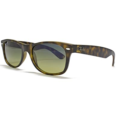 Ray-Ban Nuevas gafas de sol Wayfarer en la Habana mate polarizado - RB2132 55 894/76 RB2132 894/76 55: Amazon.es: Ropa y accesorios