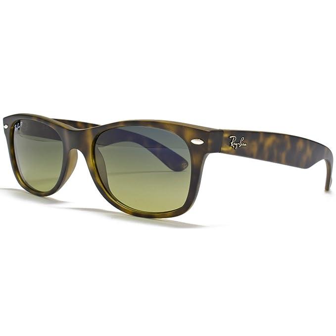 Ray-Ban Nuevas gafas de sol Wayfarer en la Habana mate polarizado - RB2132 55 894/76 RB2132 894/76 55