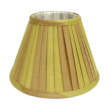 Better & Best Pantalla de lámpara de seda, tabla estrecha ...