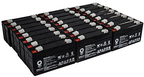 Acme Medical 5000 Scale - SPS Brand 6V 1.3Ah Replacement Battery for Acme Medical 5000 Scale (24 Pack)