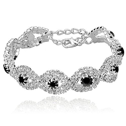 Long Way Womens Crystal Bracelets