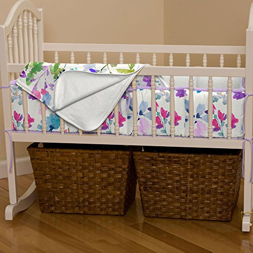 Carousel Designs Wildflower Garden Cradle Blanket