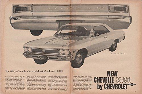 1966 CHEVROLET CHEVELLE SUPER SPORT 396 COUPE