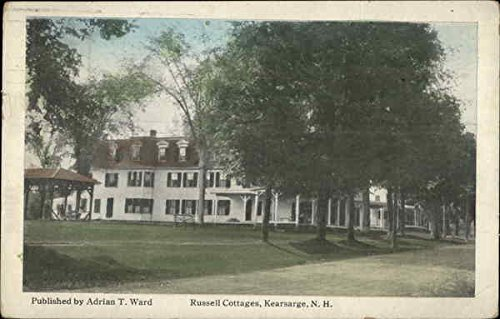 Russell Cottages Kearsarge, New Hampshire Original Vintage Postcard