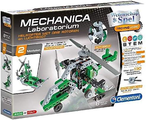 Clementoni 66790 juguete y kit de ciencia para niños - Juguetes y kits de ciencia para niños (Ingeniería, 8 año(s), Niño/niña, Verde, Gris, Italia, 276 mm) , color/modelo surtido