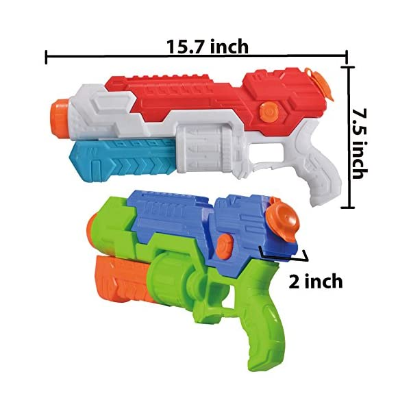 JOYIN 2 Pistole ad Acqua Potenti Bambini Adulti Super Soaker Superliquidator Fucile ad Acqua Giardino Giocattolo di… 2 spesavip