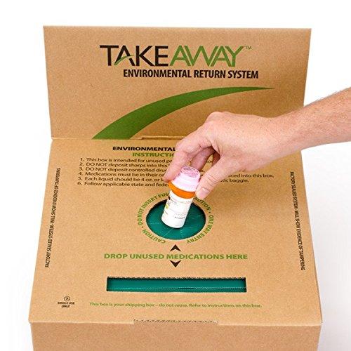 10-GALLON TAKEAWAY ENVIRONMENTAL RETURN SYSTEM - SHARPS-17100