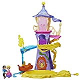 Disney Princess Playset Magical Movers Twirling Tower Adventures, 2 Dolls Included -- Rapunzel and Eugene Fitzherbert, Toy for 4 Year Olds and Up