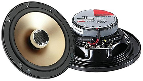 "Polk Audio Db651s 6-1/2"" 2-Way Shallow Mount Car Speakers"